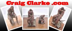 Sculptor Craig Clarke